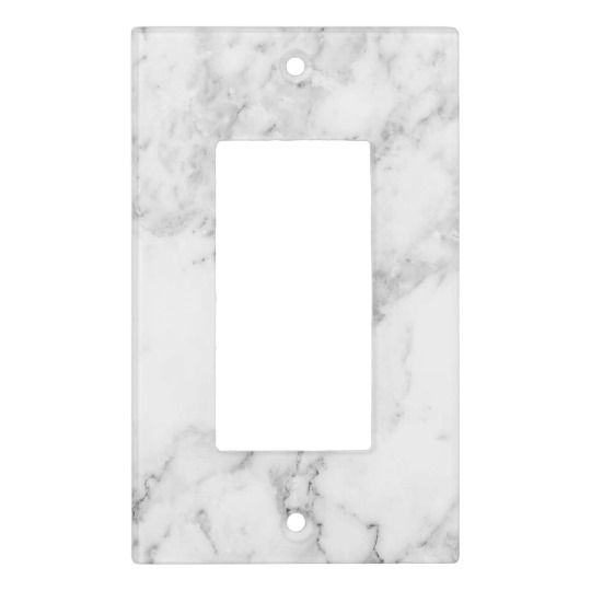 Marble Switch Plate Cover Zazzle Com In 2020 Switch Plate Covers Plate Covers Switch Plates