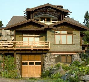 Japanese style homes in california