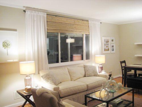 Curtains Ideas curtain rod roman shades : Curtains or No Curtains? | The gap, Curtain rods and Roman shades