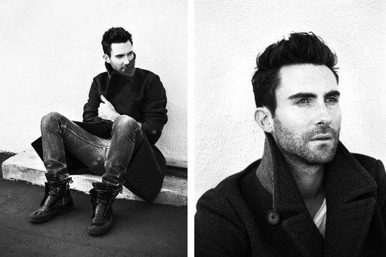 Adam Levine by Matthew Kristall for InStyle