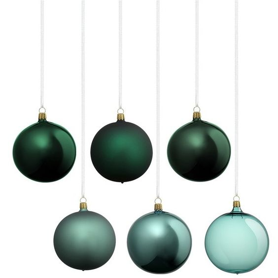 Oberfransche Assorted Christmas ornament set ($70) ❤ liked on Polyvore featuring home, home decor, holiday decorations, christmas, xmas, hand made christmas ornaments, glass home decor, glass christmas ornaments, handmade glass christmas ornaments and handcrafted christmas ornaments