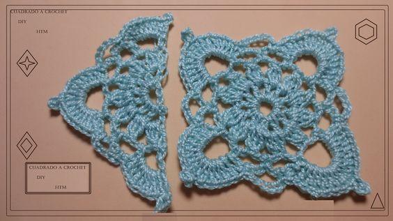 Applique geometrico Crochet