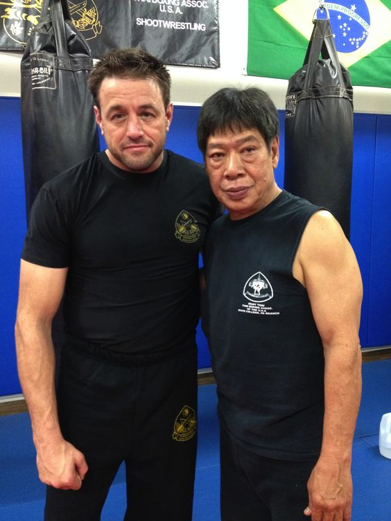 "Big Day yesterday, took the TBA Muay Thai Boxing Instructor test under Master Surachai ""Chai"" Sirisute. Thank you to Ajarn Don Garon, Ajarn Greg Nelson and Kru Kevin Lee for the help preparing for this test! Also Thank you to Sifu Francis & Simo Tracey Fong for their recommendation and guidance and Thank you to Jennifer Baker for her tremendous support and for putting up with me for the last few weeks."