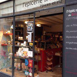 L'Epicerie de Bruno - Une jolie boutique colorée rue Tiquetonne dans le quartier Montorgueil - Paris, France