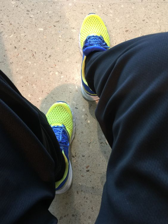 """Brooks """"LAUNCH""""....a great running shoe, but I use mine for much more!"""