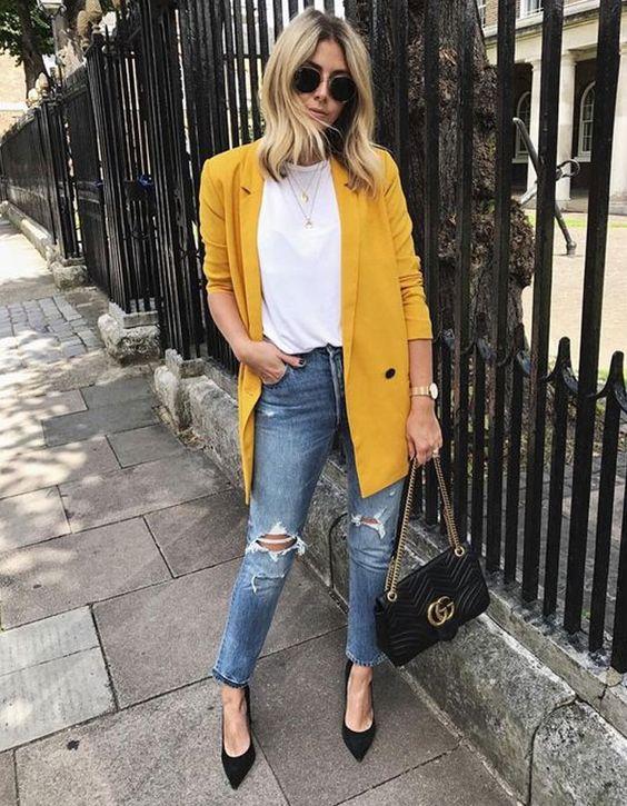 Como usar looks amarelo mostarda? - dicas de peças em amarelo mostarda para os looks do dia a dia