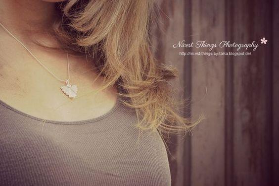 Engel als Halskette