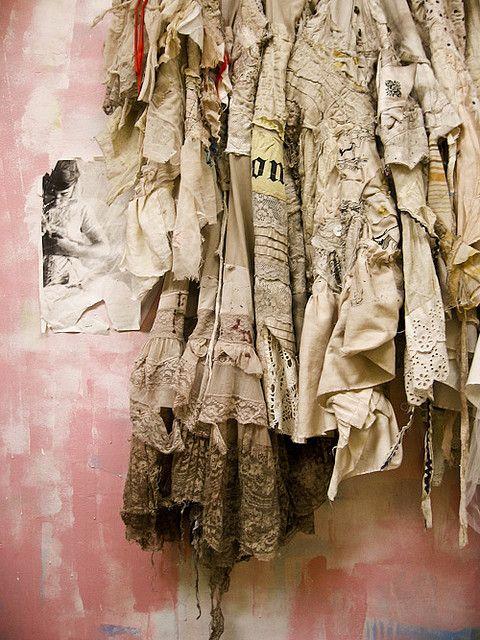Selene Gibbous fabrics and lace skirt(?)