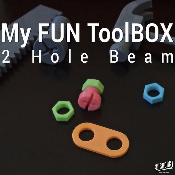 Something we liked from Instagram! My Fun ToolBOX collection features a tool box saw hammer wrench and screwdriver all style & sizes of wheels  screws & bolts and beams in different lengths - everything a little builder needs. Print the whole set in different colors. Check us out at www.3dshook.com #3dprinting #3dprinter #makers #Kids #ToolBox #Kids #Toys #3dmodel #3dprint #3dshook #3dmodels #3dprinted #kidstuff #toolbox #bobthebuilder by 3dshook check us out: http://bit.ly/1KyLetq