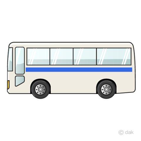 50歳以上 フリー イラスト バス 車 シルエット 観光バス 子供 バイク