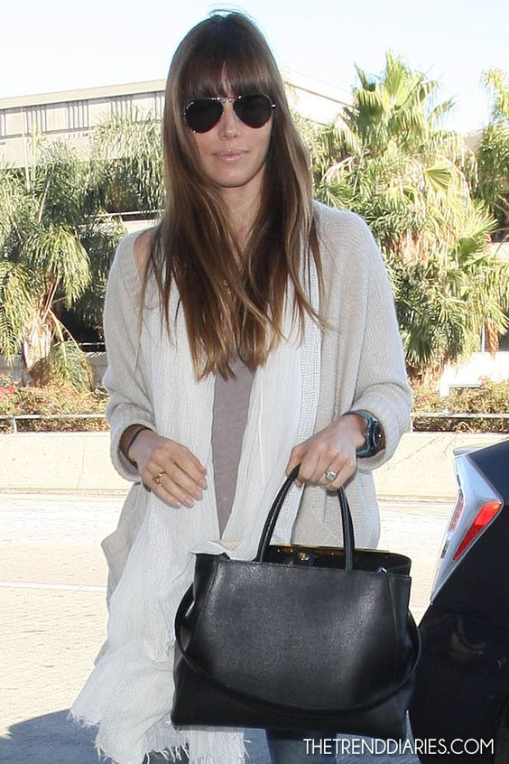 Jessica Biel at LAX Airport in Los Angeles, California - September 1, 2012