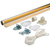 """Roller Shade Clutch Kit 45"""" Long - Make your own Window Shades"""