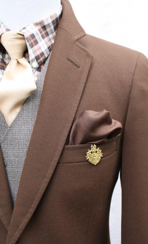 Mens Chocolate Brown Vintage Blazer from Ralph Lauren Chaps by