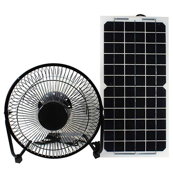 Goodsoz 10w 12v Solar Panel Powered Fan Ventilator For Rv Trailer Chicken House Dog House Roof Vent Multi Function 12v Solar Panel Ventilation Fan Solar Panels