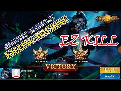 Heroes Arena Arena Pahlawan Indonesia Skarlet Gameplay Killing