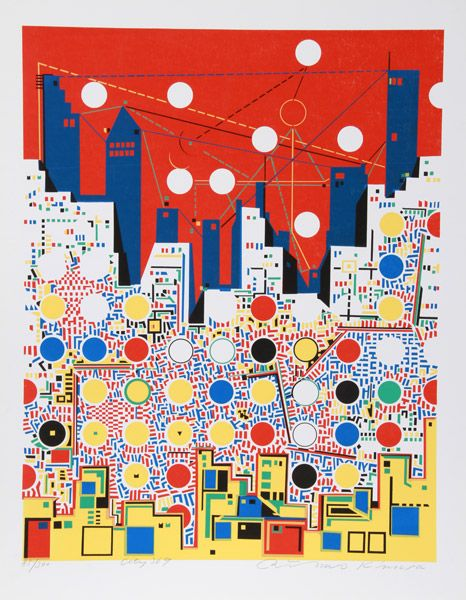comma22:  Risaburo Kimura (1924 - ) City 369 1972