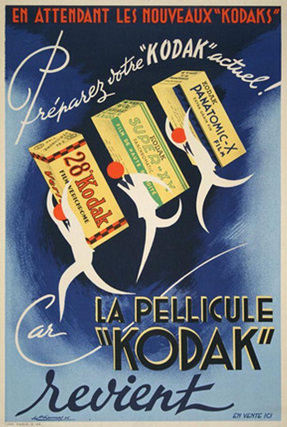:: Kodak la pellicule, designer: Etienney, 1946 ::