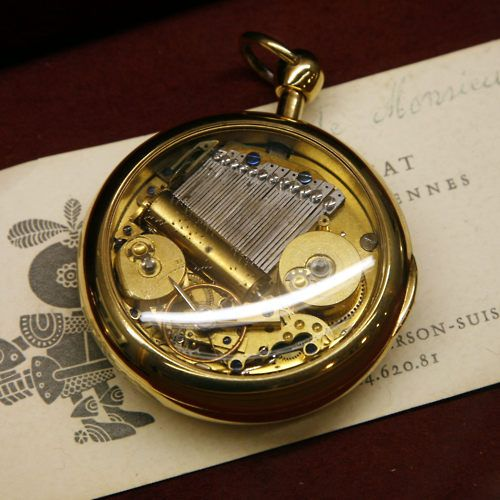Musical Pocket Watch