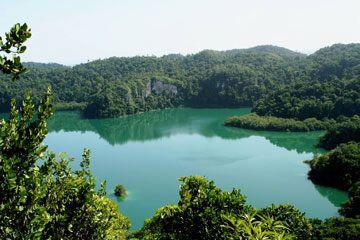 Lagunas de Metzabok, Chiapas, México