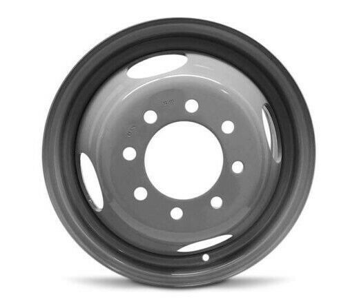 16 Grey Replacement Wheel Fits Chevy Gmc 8 Lug Dually Steel 16x6 8x6 5 127mm Roadready In 2020 Replacement Wheels Gmc Chevy Express
