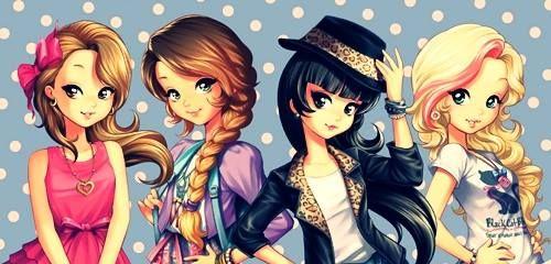 Imagem Relacionada Amigos Desenho Desenhos Desenhos De Anime