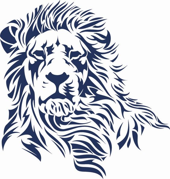 lion logo, reminds me of litho prints I made in college.