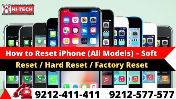 How To Reset Iphone All Models Soft Reset Hard Reset Factory Reset Iphone Go To Settings Hard