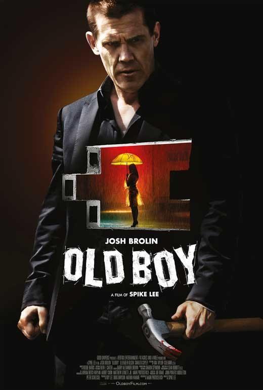 Oldboy 27x40 Movie Poster 2013 Oldboy Movie Oldboy Movies For Boys
