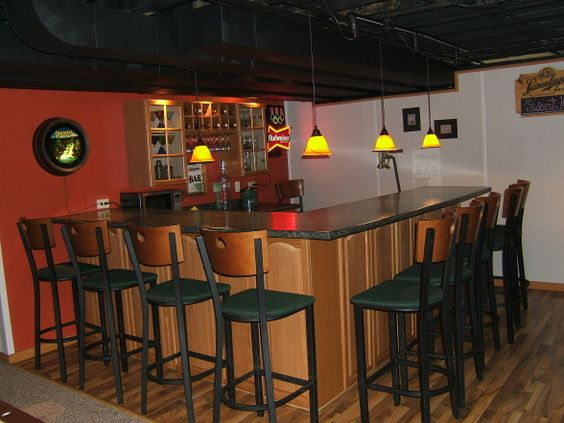 Basement man cave basement designs decorating ideas hgtv rate my space exposed black - Hgtv basement designs ...