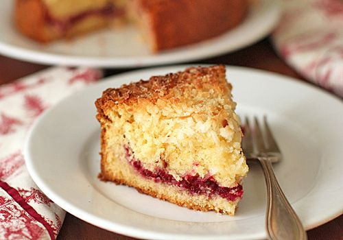 cranberry vanilla coconut coffee cake <3