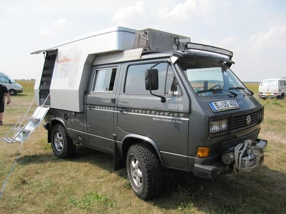 nice camper unit vw t3 syncro pinterest campers and nice. Black Bedroom Furniture Sets. Home Design Ideas