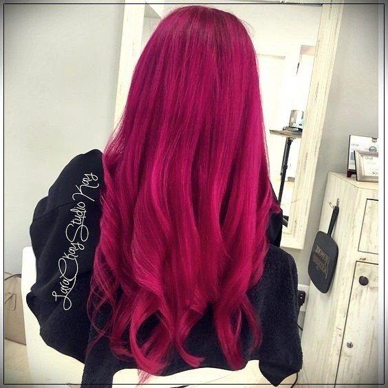 43+ Dark fuchsia hair color ideas