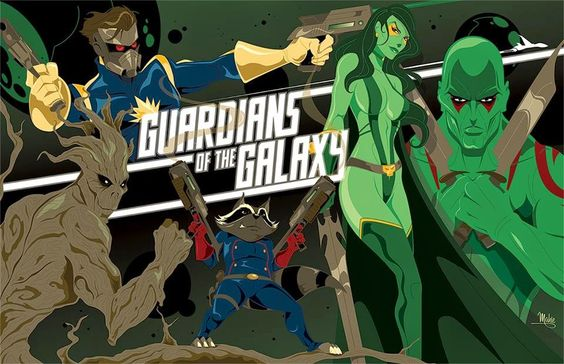 Fashion and Action: 'Guardians of the Galaxy' Art Gallery