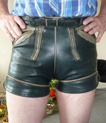 kurze-Pfadfinderledehose-Gay-Lederhose-Trachtenlederhose
