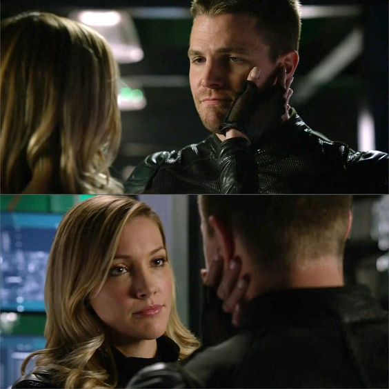"""Green Arrow and Black Canary ❤ #lauriver #canarrow #laurellance #oliverqueen #greenarrow #blackcanary #arrow"""