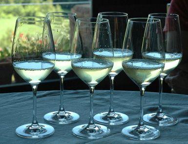 Wine tasting in Marino, south of Rome, Italy