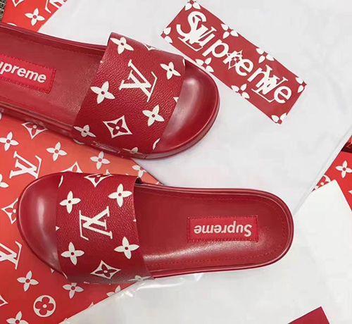 supreme louis vuitton shoes