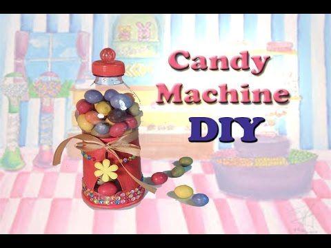DIY: Functional Candy Machine|Distributore di caramelle funzionante - YouTube