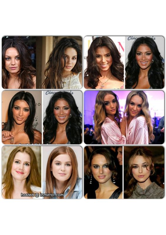 look alike...dont agree with vannessa and Mila Kunis: