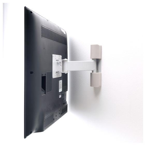 IKEA UPPLEVA wall bracket for TV, tilt/swivel