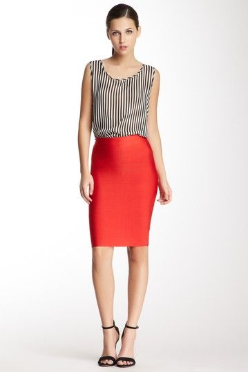 Bodycon Skirt on HauteLook