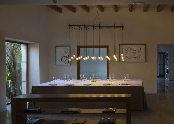 Hänge-Lampe / modern / für Innenbereich / geblasenes Glas - ALGORITHM - VIBIA LIGHTING