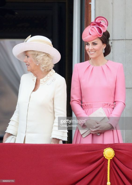 News Photo : Camilla, Duchess of Cornwall and Catherine,...
