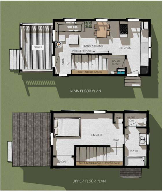 The new largaud floor plan 149 love this perfect for Micro compact home floor plan