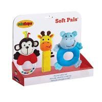 Edushape Soft Plush Toy Pals Set, Multi/None