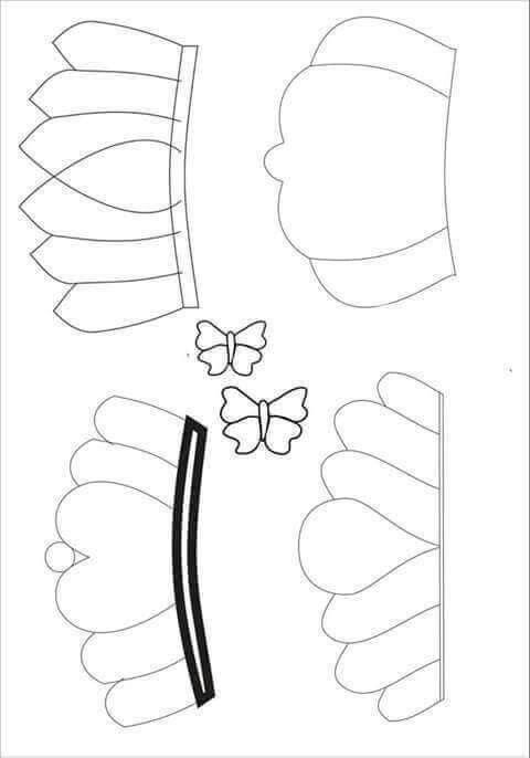 Taclar Diy Hair Bows Fabric Flowers Paper Crafts Diy