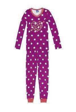 Pijama Infantil Menina Em Ribana Que Brilha No Escuro