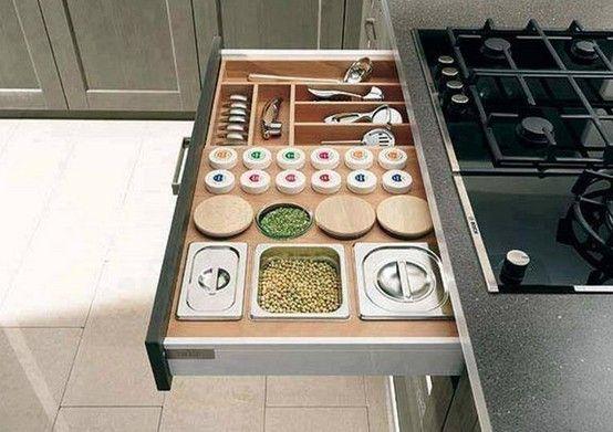Assim fica fácil organizar a bagunça. Adorei!  www.designtendencia.com