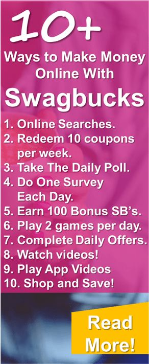 Thanks for posting this Swagbucks article! These are some of the best, easy and real ways to make money online! I love Swagbucks and Ebates to get cash back on my normal shopping! Truly the best make at home tips and tricks!