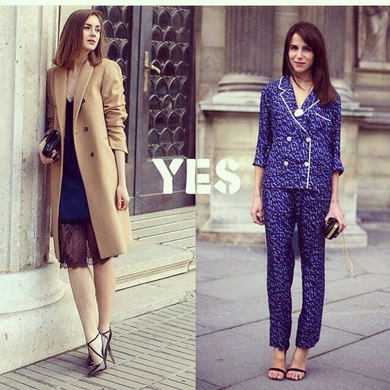 Пижамный стиль(на фото справа) не путать с бельевым стилем(см. пост ниже из рубрики #малыестили) ФОРМЫ:Удобные и комфортные. Свободный и легкий крой можно отнести вещи: брючные костюмы халаты с запахом; платья типа ночных сорочек; комбинезоны; укороченные брюки; широкие свободные штаны и шорты; очень свободные блузы небрежные футболки пижамные жакеты; платье типа ночной сорочки скорее в бельевом стиле ЦВЕТА: Пастельные нежные и приглушенные цвета. ФАКТУРЫ:Мягкие легкие дышащие приятные к…